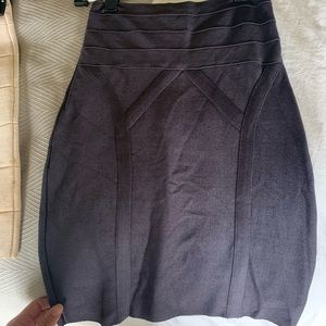 Bebe bandage skirt size small